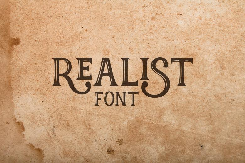 REALIST-FONT