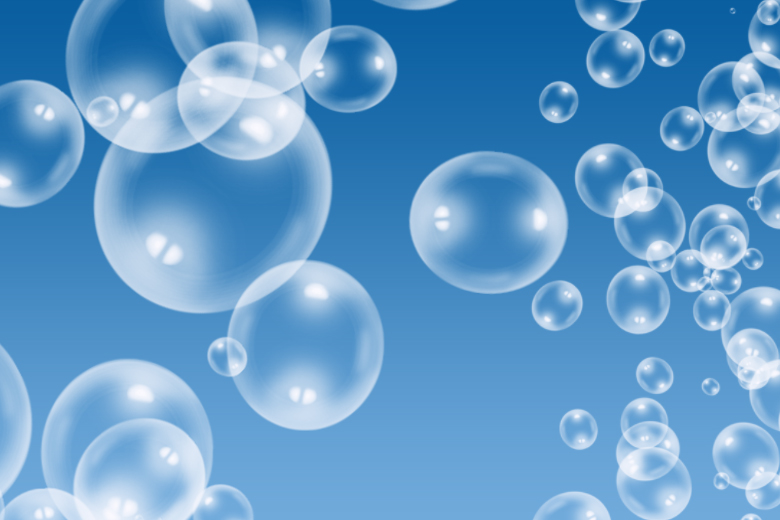 pennelli bolle d 39 acqua photoshop
