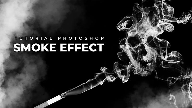 effetto fumo photoshop