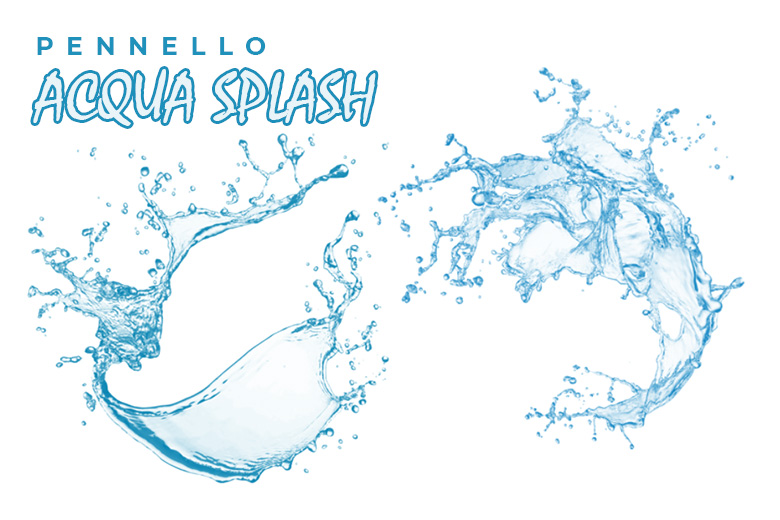 Pennello acqua splash
