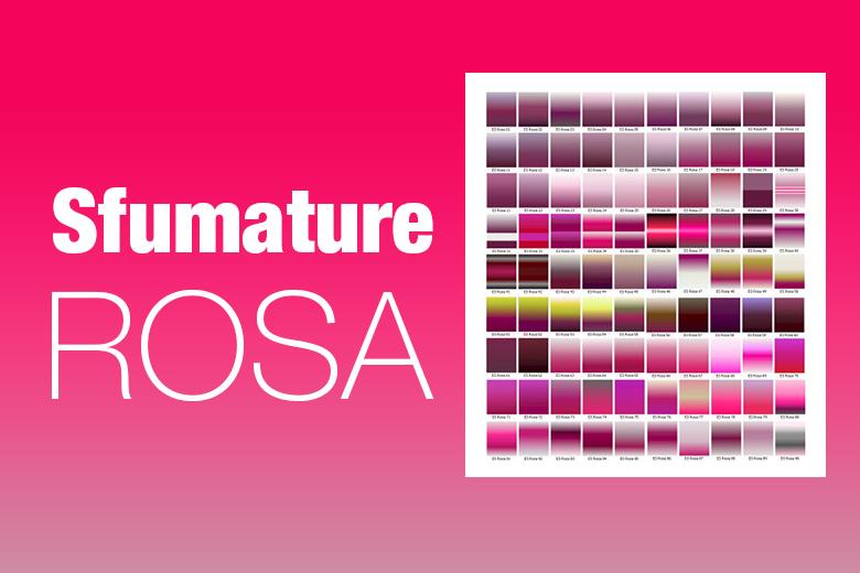 Set di sfumature rosa per photoshop da scaricare gratuitamente
